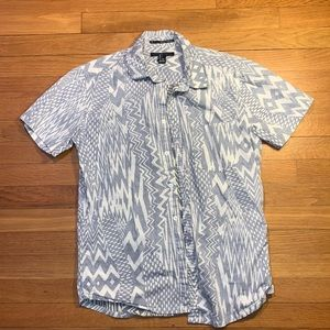 Men's Hawaiian button down shirt